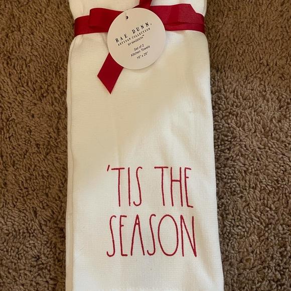 Rae Dun kitchen towel set holidays christmas